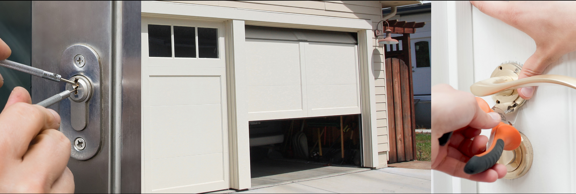 Locksmith and garage door specialist
